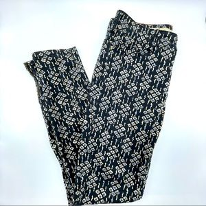 ANTHROPOLOGIE Pilcro Patterned Jeans 27